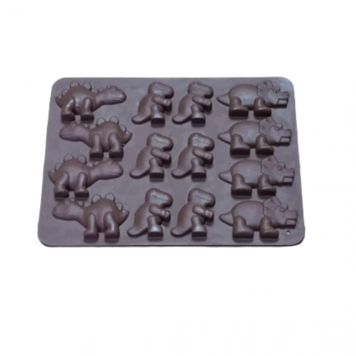 Forme silicon pentru jeleuri de casa, ciocolata, gheata si sapun. 1