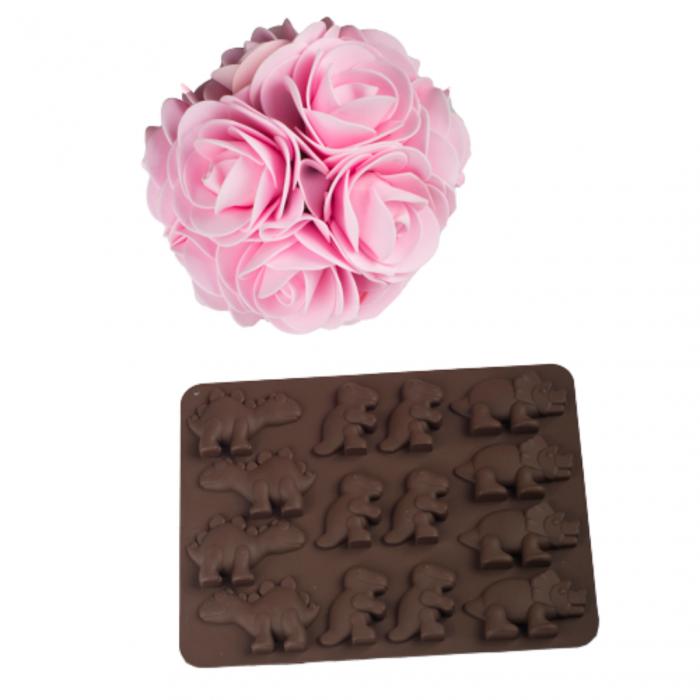 Forme silicon pentru jeleuri de casa, ciocolata, gheata si sapun. 0