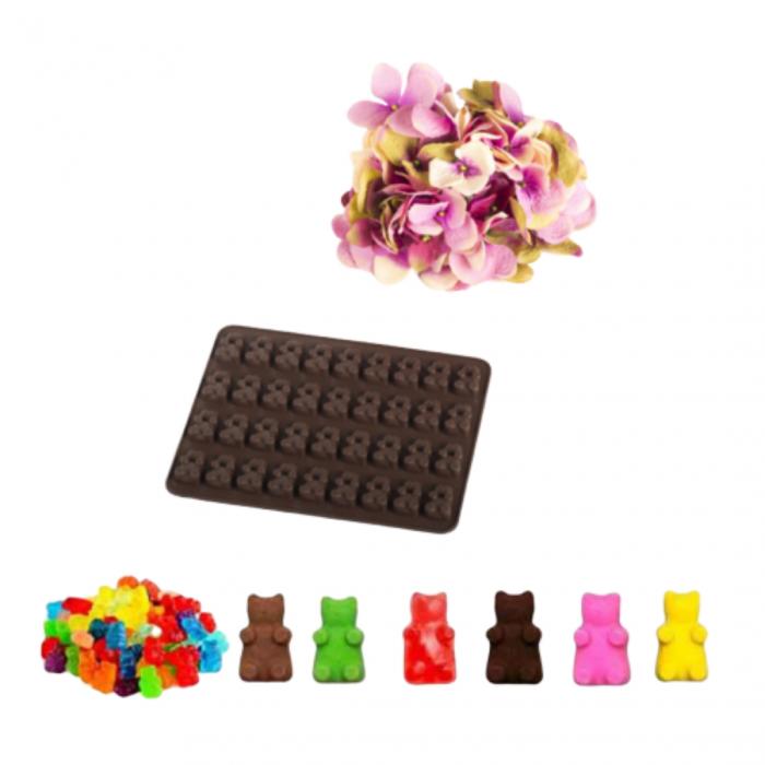 Forme din silicon pentru gatit jeleuri, ciocolata, sapun natural. 0
