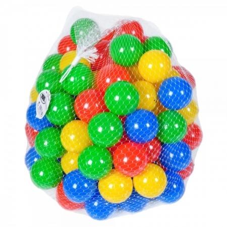 Sac 100 bile multicolore pentru copii 1
