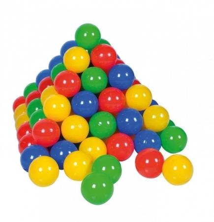 Sac 100 bile multicolore pentru copii 0