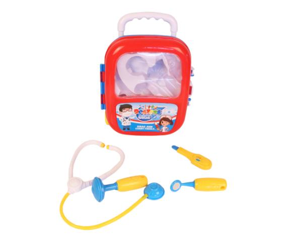 Jucarie trusa doctor cu instrumente medicale pentru copii, troller. 1