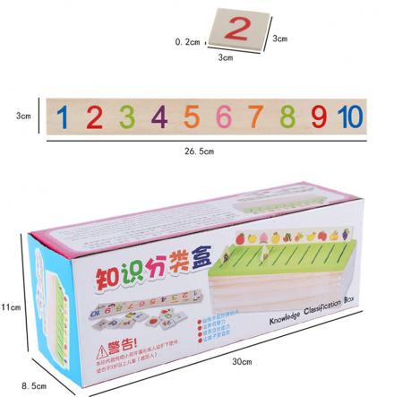 Jucarie Sortator avansat cu imagini tip Montessori4