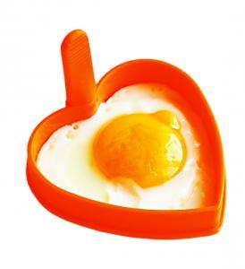 Forma din silicon pentru oua ochiuri - inimioara.0
