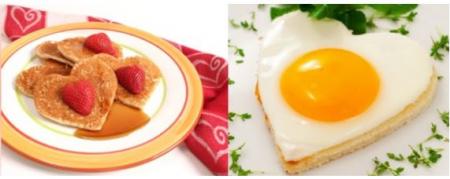 Forma din silicon pentru oua ochiuri - inimioara.1