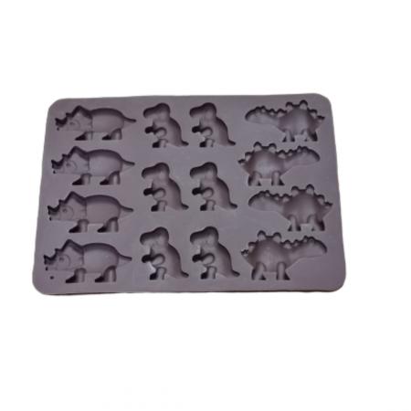 Forme silicon pentru jeleuri - Dinozauri.2