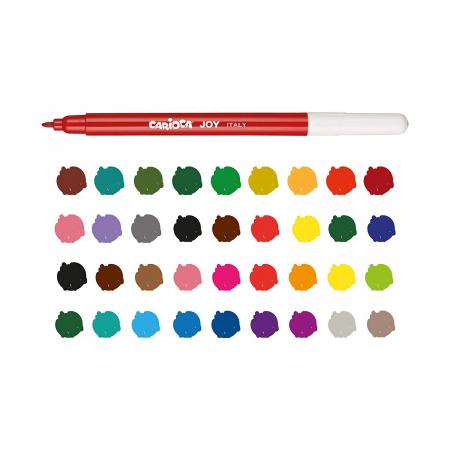 Pachet PROMO: Plansa de colorat reutilizabila - Printul si Printesa + Carioca JOY4