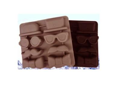 Forma silicon pentru preparare ciocolata.