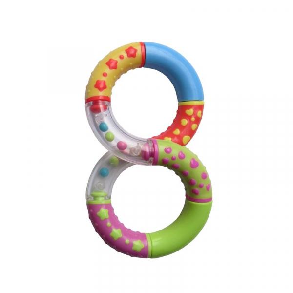 Jucarie segmente rotative, forma 8 [0]