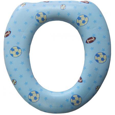 Reductor WC moale (cu burete), bleu 0