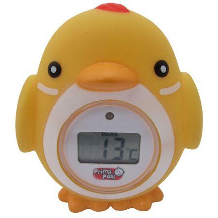 Termometru de baie pentru copii electronic. Pui Galben 0