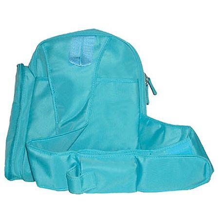 Geantă textila voiaj cu saltea înfășat - Bleu [1]
