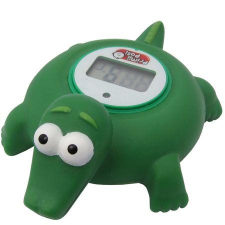 Termometru de baie pentru copii electronic. Broscuță verde 0