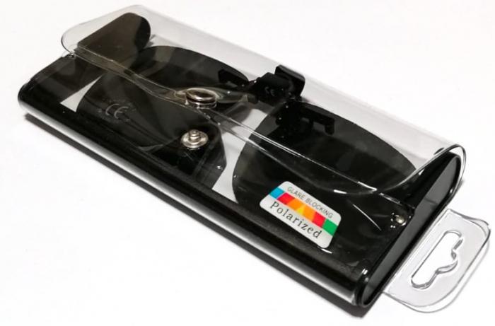 Lentile polarizate tip Clip On, de culoare neagra [1]