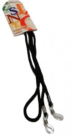 Șnurpentru ochelari din material textil culoare neagra [0]