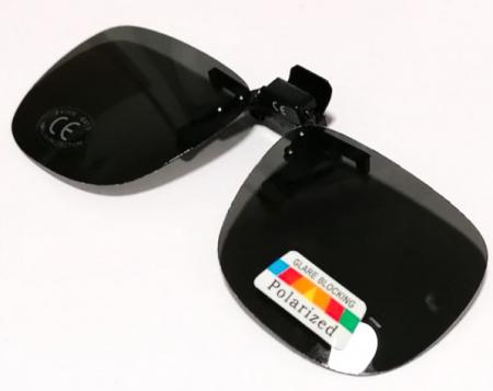 Lentile polarizate tip Clip On, de culoare neagra [0]