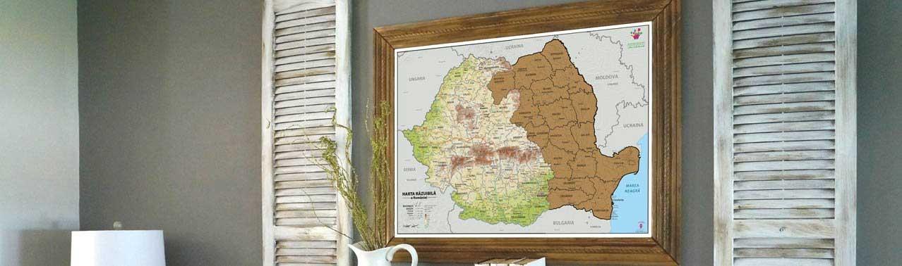 Harta Razuibila a Romaniei