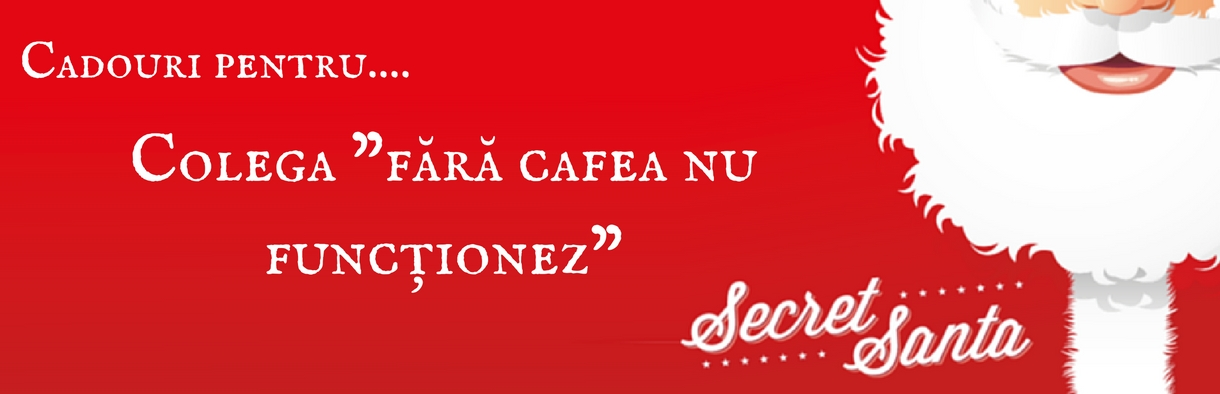 """Cadouri de Secret Santa pentru colega """"fără cafea nu funcţionez!"""""""