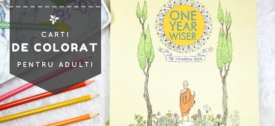 Carti de colorat pentru adulti: Noul remediu pentru suflet