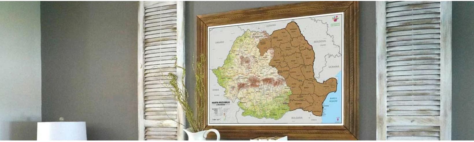 Harta Razuibila a Romaniei - Cel mai frumos cadou de 1 Decembrie