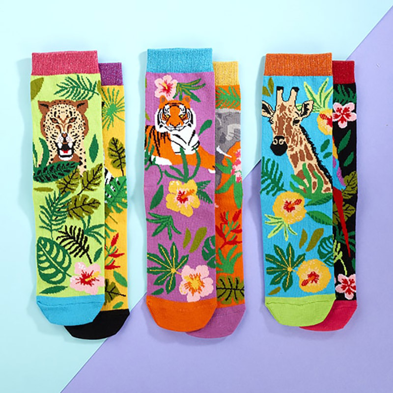 set-6-sosete-colorate-salbatice-jungle-fever-3457-7185
