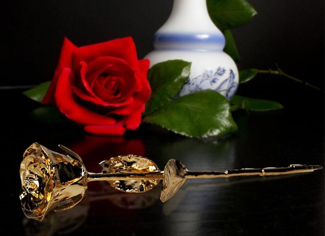 trandafir aur