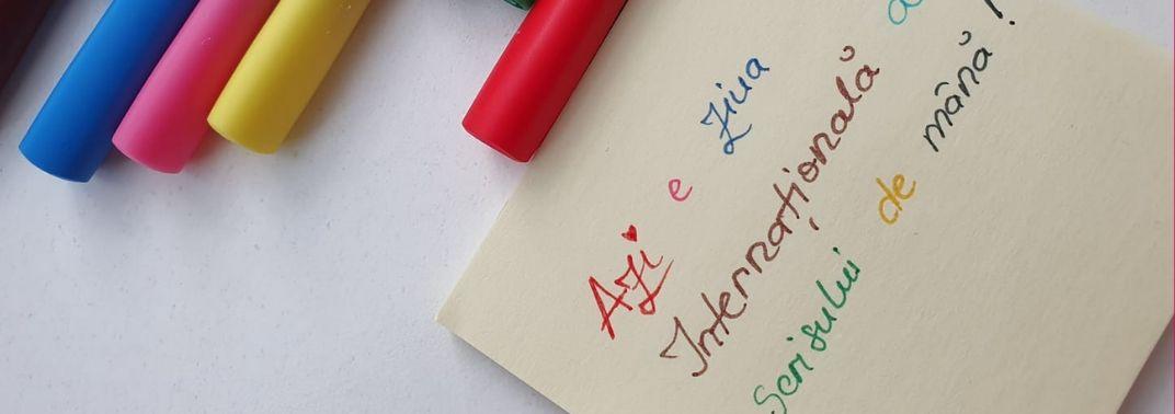 23 Ianuarie: Ziua Internationala a Scrisului de Mana