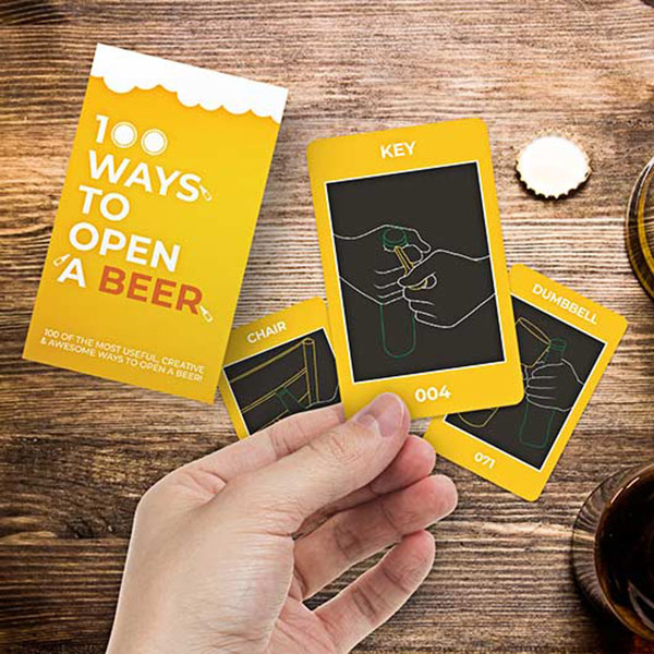 100 Solutii ingenioase de a deschide o sticla de bere [0]