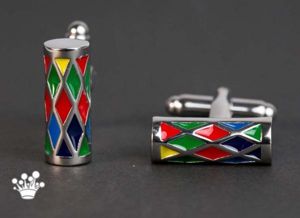 Butoni cilindrici colorati 0
