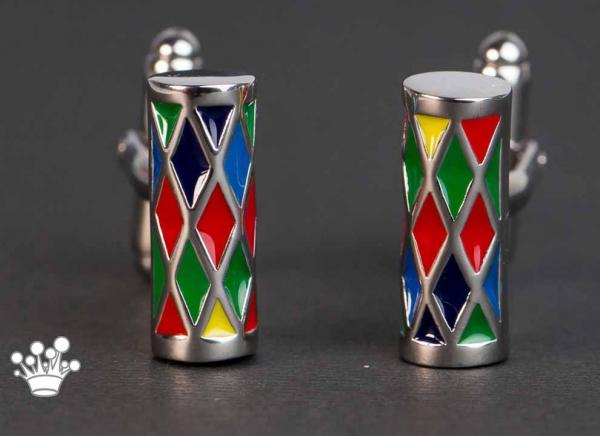 Butoni cilindrici colorati 1