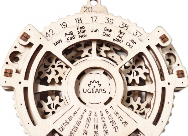 Calendar Steampunk din Lemn Ugears 5