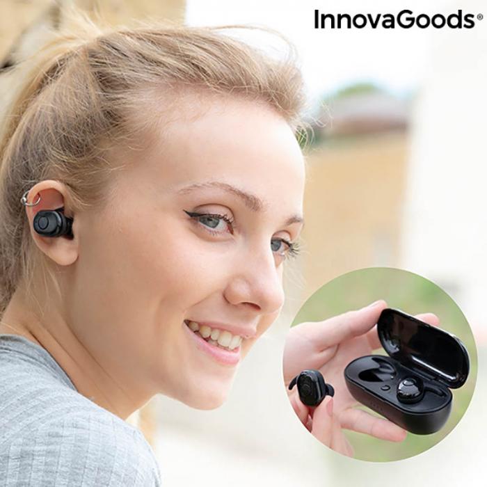 Casti wireless Ebeats cu incarcare magnetica 4