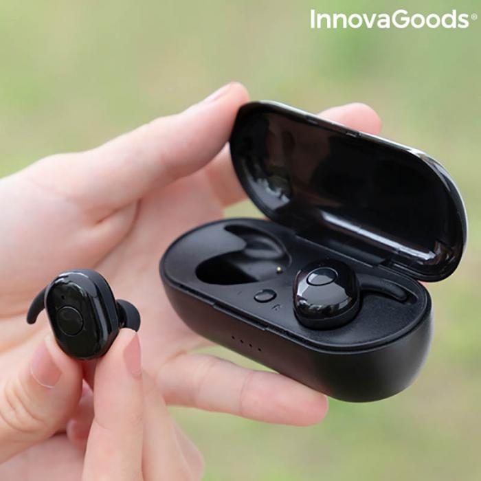 Casti wireless Ebeats cu incarcare magnetica 2