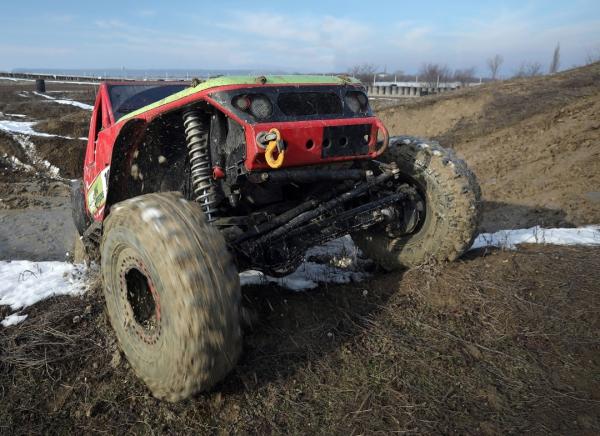 Experiență 100Tracks off-road  Academia Titi Aur 1