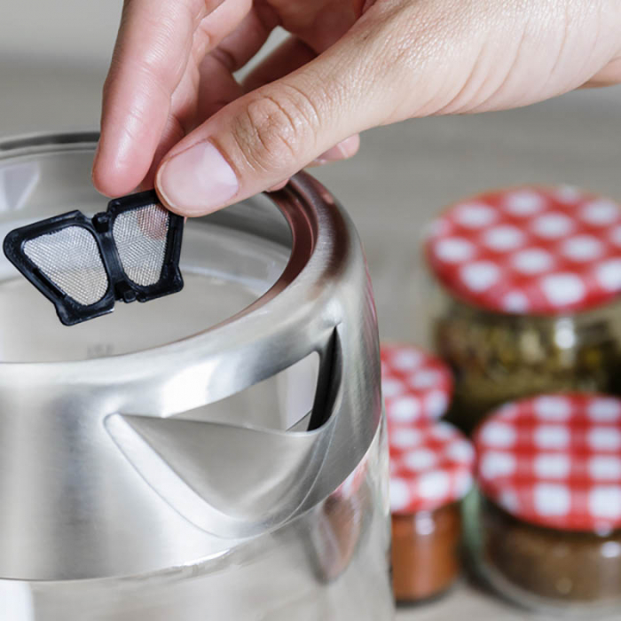 Fierbator apa cu filtru de ceai 1.7 litri 3