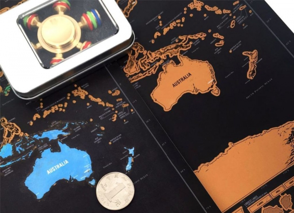 Harta razuibila Deluxe 8