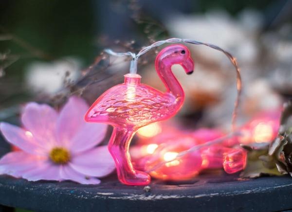 Instalatie de lumini Flamingo Roz 5