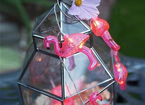 Instalatie de lumini Flamingo Roz 6