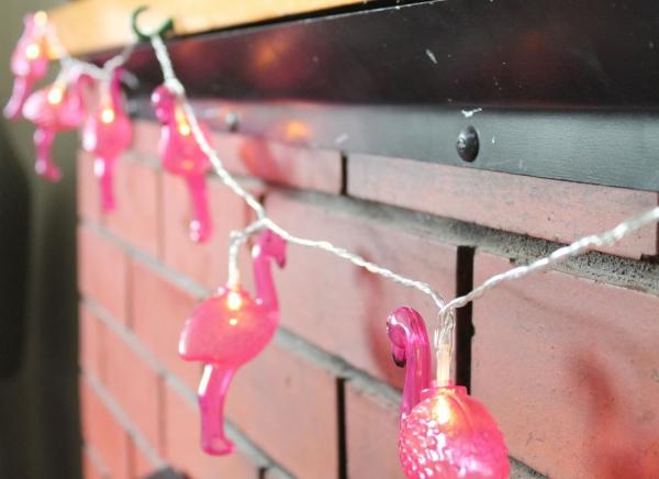 Instalatie de lumini Flamingo Roz 9
