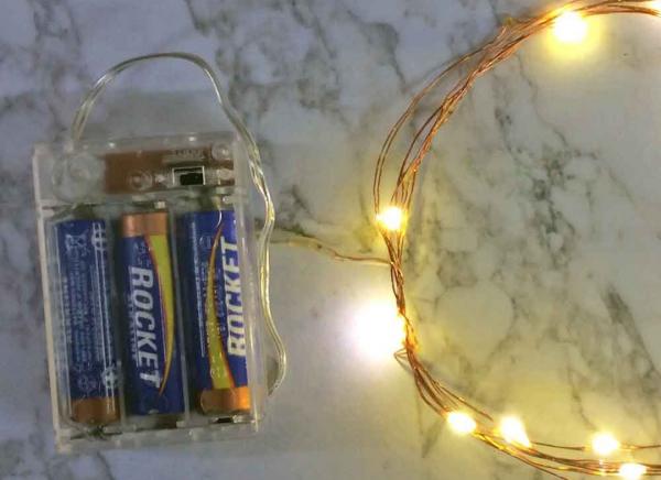 Instalatie de lumini cu 10 leduri 7