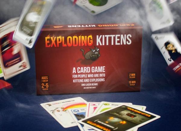 Joc de Carti Exploding Kittens 5