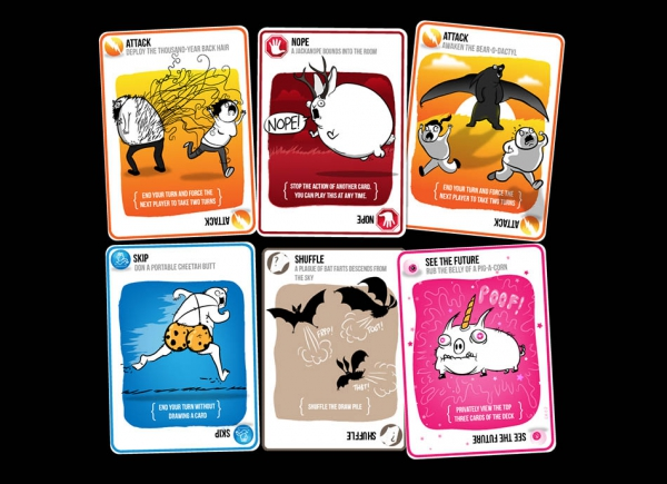 Joc de Carti Exploding Kittens 7