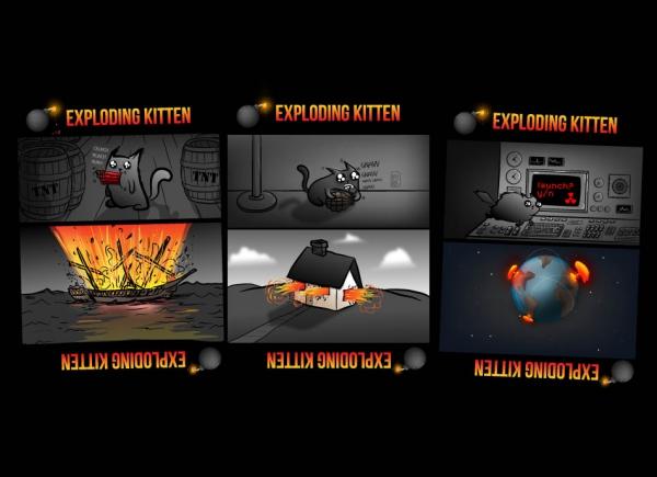 Joc de Carti Exploding Kittens 8