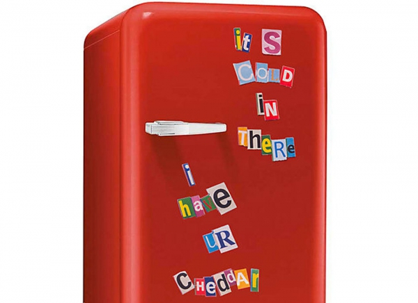 Litere magnetice frigider Fridge Bandits 0