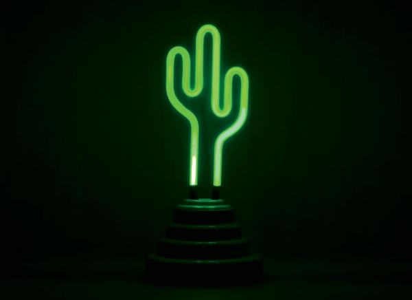 Lampa Neon Cactus 5
