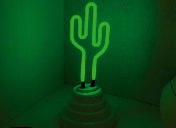 Lampa Neon Cactus 7