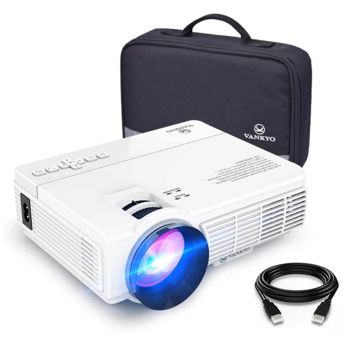 Mini Videoproiector LED Vankyo Leisure 3, 3600 Lumeni, Geanta transport si Telecomanda 8