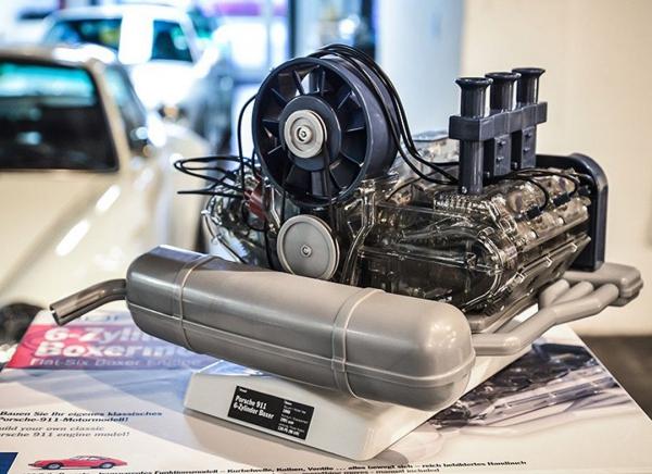 Motor Porsche boxer 6 cilindri - kit DIY 4