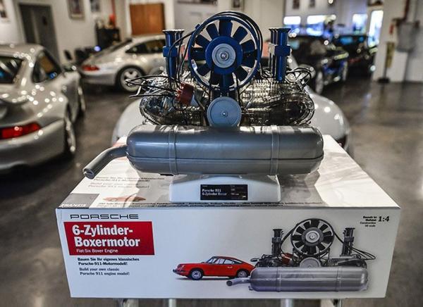 Motor Porsche boxer 6 cilindri - kit DIY 5