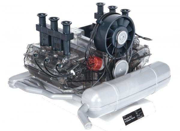 Motor Porsche boxer 6 cilindri - kit DIY 7